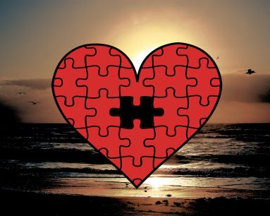 HeartPuzzleSunset